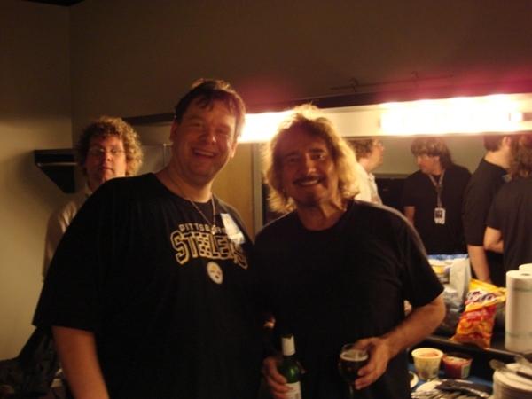 Joe Siegler and Geezer Butler