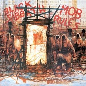 Black Sabbath Mob Rules album cover